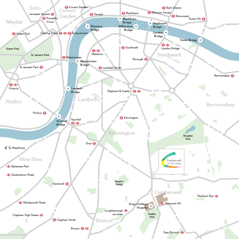 london connected map